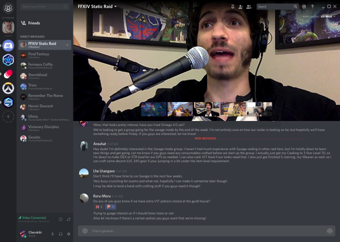 Discord steals gamers from Skype with video chat and screensharing