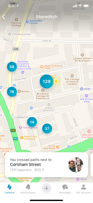 Dating apps location based